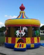 16-Foot Carousel Bounce House rental in Daytona Beach, FL