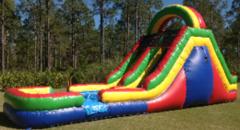 16-Foot Rainbow Slip-n-Slide in Daytona Beach, FL