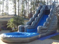 20-Foot Dolphin Marble Slip-n-Slide in Daytona Beach, FL