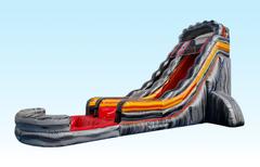 25 Foot Lava Splash Slip-n-slide in Daytona Beach, FL