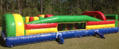 35-foot backyard inflatable obstacle course in Daytona Beach, FL