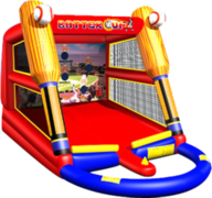 Baseball inflatable party game rental in Daytona Beach