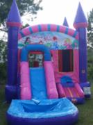 Girl Castle Wet Slip-n-Slide in Daytona Beach, FL