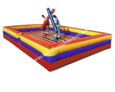 Joust inflatable party game rental in Daytona Beach