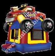 Monster Truck Rainbow Castle bounce house rental in Daytona Beach, FL