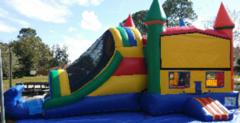 Rainbow Combo Wet Slip-n-Slide in Daytona Beach, FL