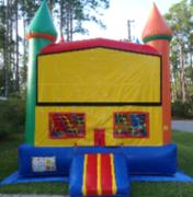 Rainbow Module Castle bounce house rental in Daytona Beach, FL