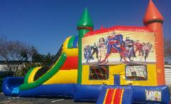 Rainbow Super Hero Combo Wet Slip-n-Slide in Daytona Beach, FL