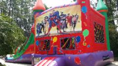 Super Hero Balloon Combo Wet Slip-n-Slide in Daytona Beach, FL