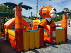 Tiger toddler bounce house in Daytona Beach, FL